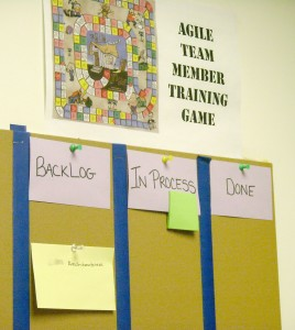 Agile Team Member Training Game
